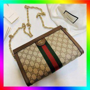 ✨Gucci✨ GG Ophidia Small Shoulder Bag Crossbody Bag Clutch Bag